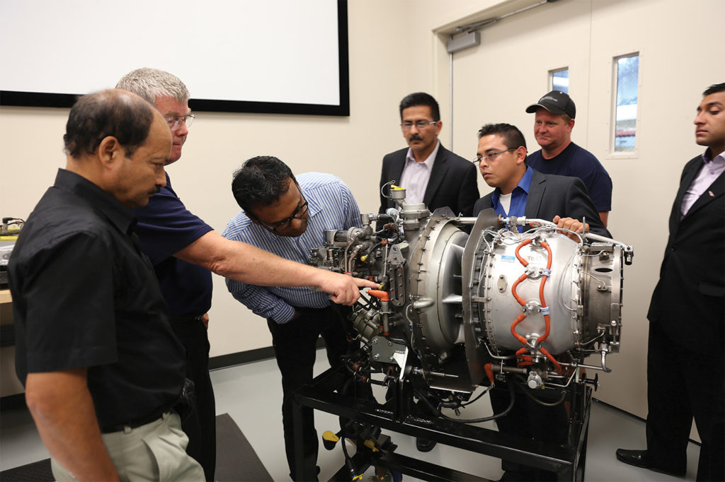 HFTC offers training for Safran Helicopter Engines using Safran instructors, and Pratt & Whitney Canada through FSI. Metro Photo