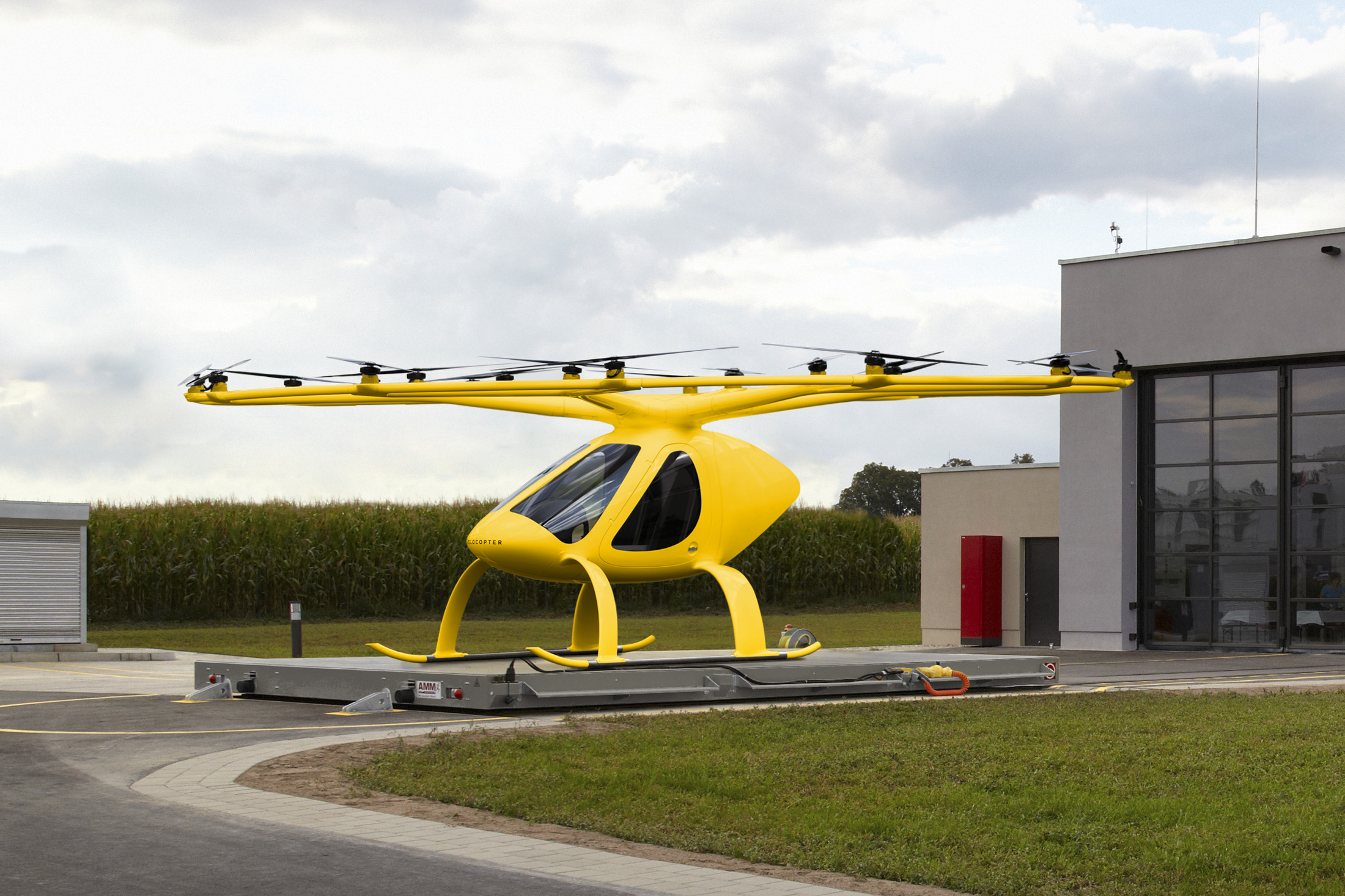 ADAC plans to trial Volocopter's electric VTOL aircraft as air shuttles for emergency doctors.