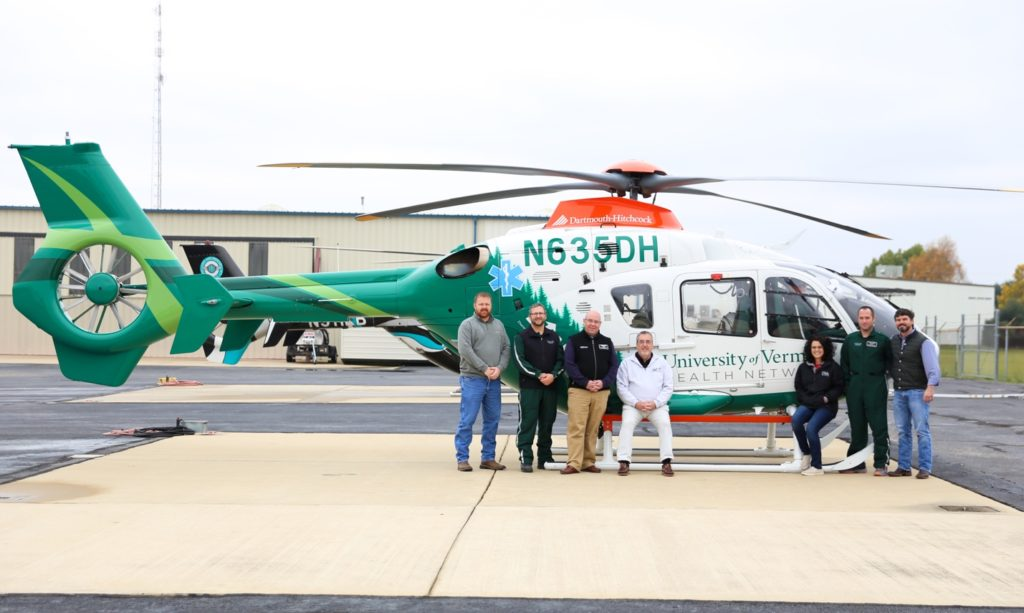 Paired with Metro Aviation's traditional medical interior, the H135 will operate as part of an improved regional transport system.