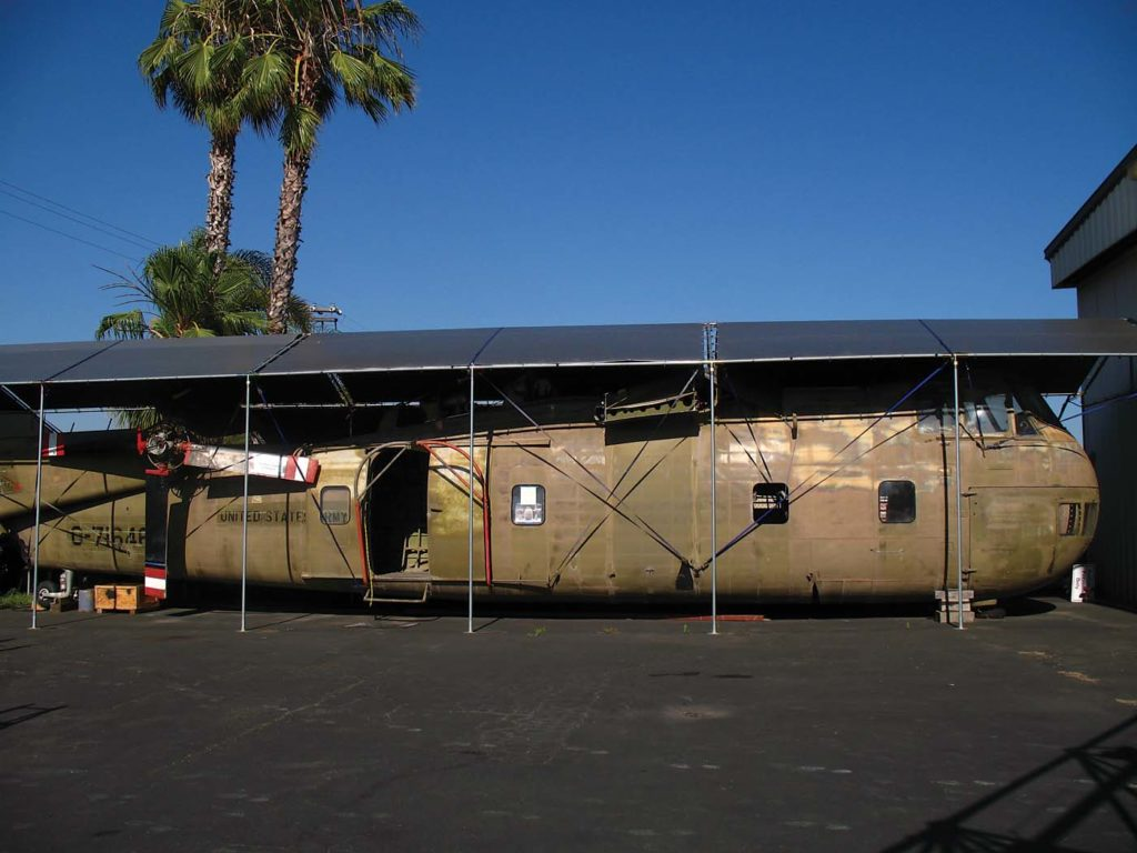 The CH-37 will be the largest restoration project for the museum. Skip Robinson Photo