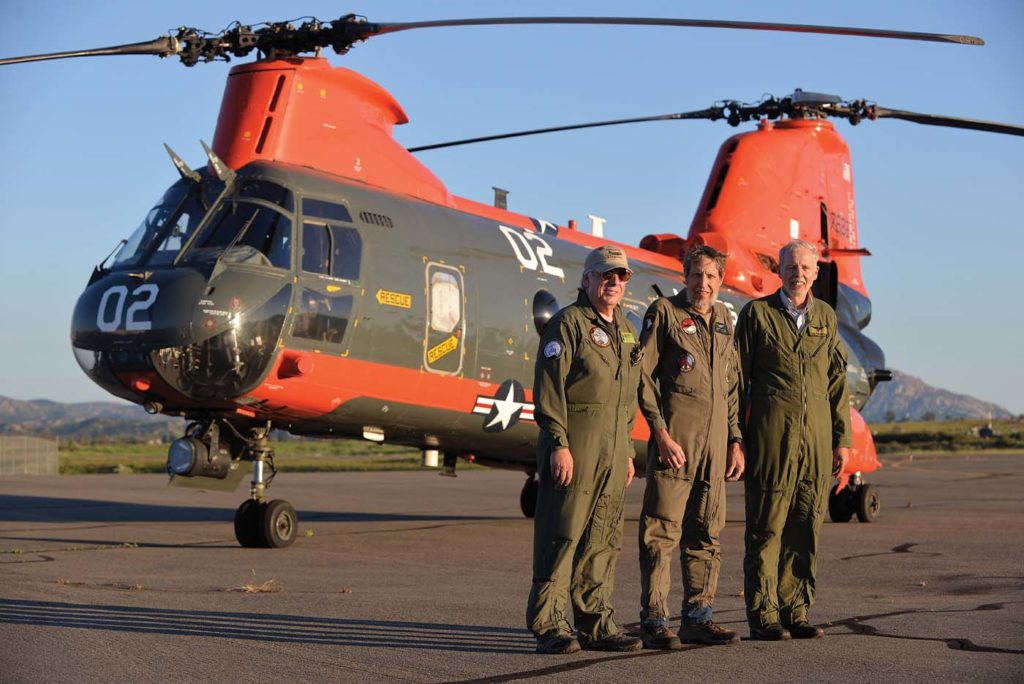 From left: Chip Lancaster, Joe Gwizdak, and Howard Northrop. Skip Robinson Photo
