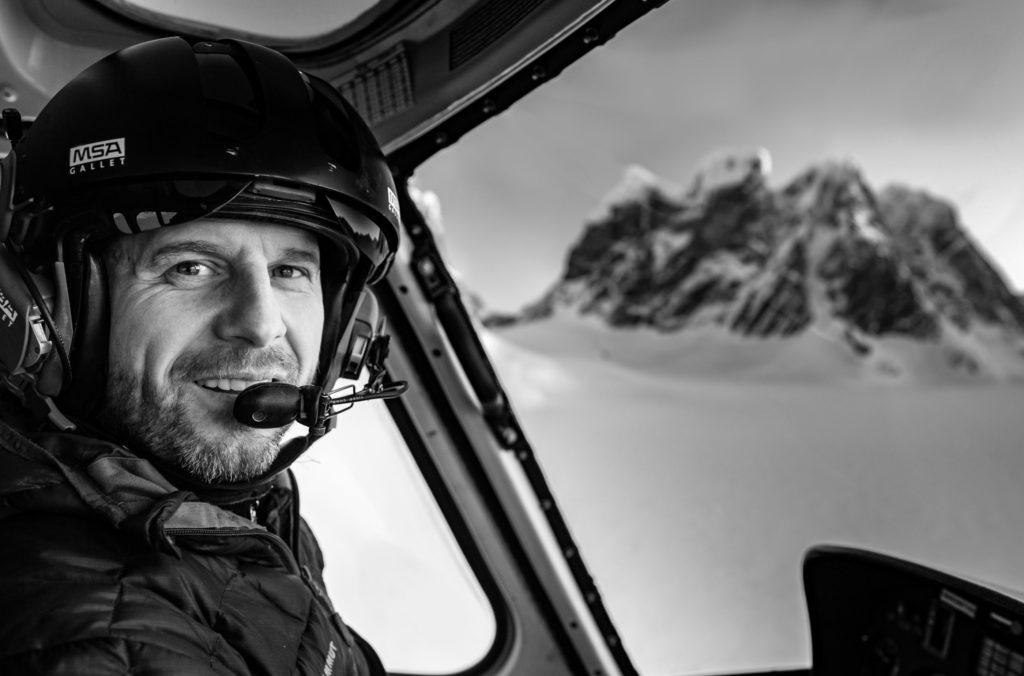 After immigrating to the United States in 2000 and receiving flight training, Hermansky worked as a flight instructor in California before he was hired by Temsco to fly tours in Alaska. Temsco Photo