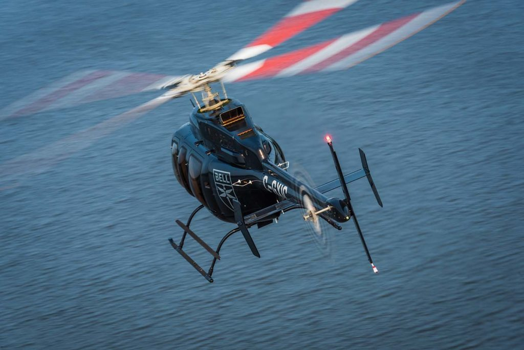The Bell 407GXi utilizes the latest variant of the Rolls-Royce M250 engine, which comes with a dual channel full authority digital engine control (FADEC) fuel management system. Peter Handley Photo