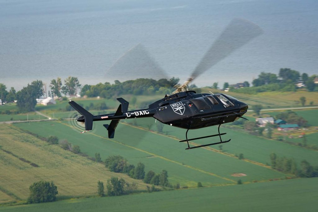 Since the introduction of the Bell 407 over 22 years ago, physical improvements to the model have included increased shaft horsepower for operations in higher and hotter conditions, as well as numerous kits and options to expand the 407's range of operations and utility. Now, technology is taking the lead in the 407's evolution. Peter Handley Photo