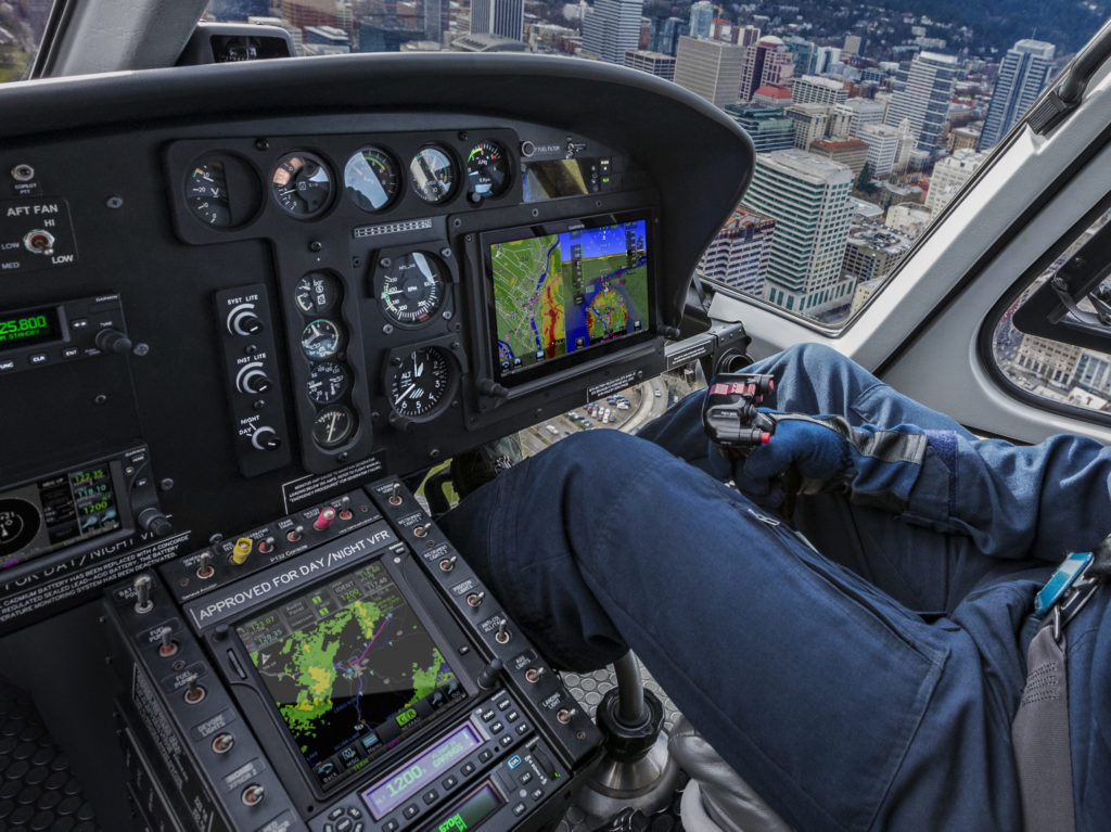 Together, the G500H TXi and GTN offer seamless touchscreen continuity in the cockpit. Garmin Photo