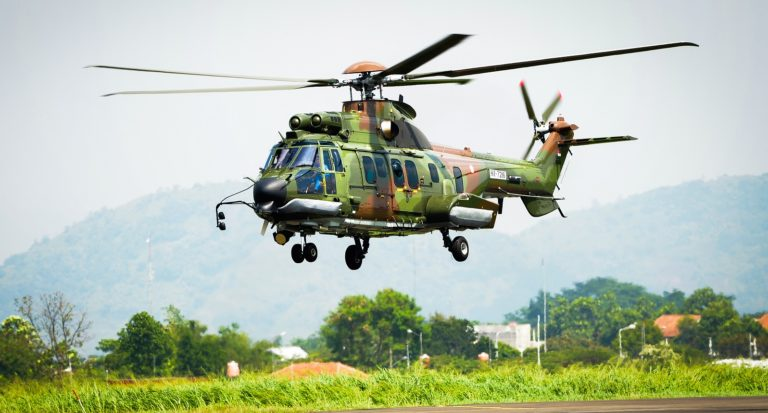 The H225M helicopters will be delivered to the Indonesian Air Force upon reassembly and completion of the mission equipment outfitting and customization by PTDI. PTDI Photo