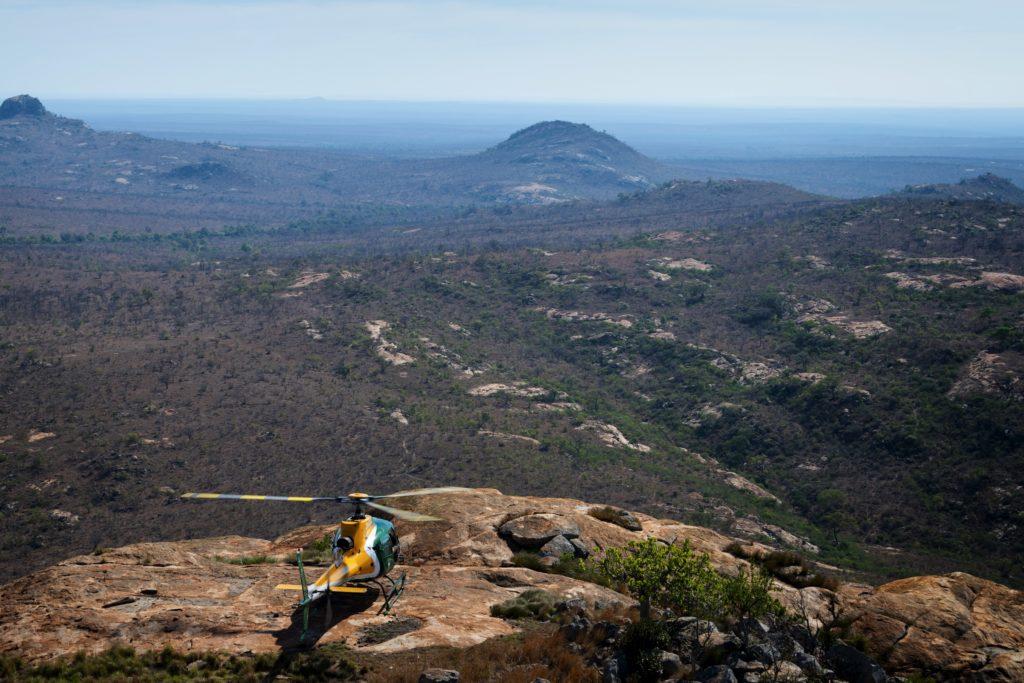 The Kruger encompasses a vast land area.