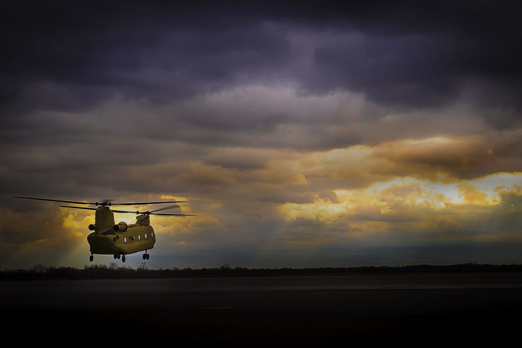 The CH-47F deliveries to Spain will begin in 2021. Boeing Photo