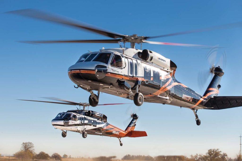 PJ Helicopters received a Restricted Category Type Certification for its PJH UH-60A Utility Hawk in July 2015. Evan Welch Photo