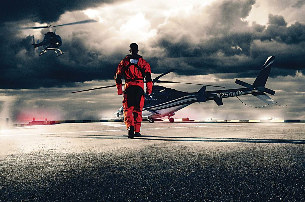 Switlik's gear is used by some of the largest HEMS operators in the U.S. and Australia, as well as by aerial law enforcement, firefighting, and oil-and-gas operators around the world. Switlik Photo