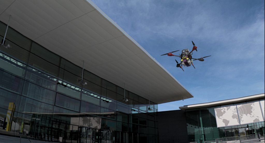 ShockWave Tactical UAS can provide real-time intelligence and surveillance as a force multiplier to government, law enforcement or civil security firms. Pegasus Image