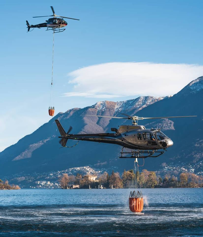 Two Airbus H125s, one shot. Photo submitted by Instagram user @rotorcraft.photography using #verticalmag