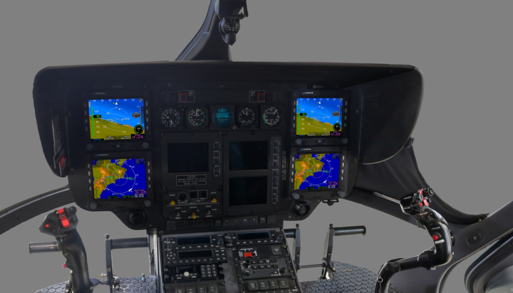 Genesys Aerosystems earns STC for avionics suite on EC145e