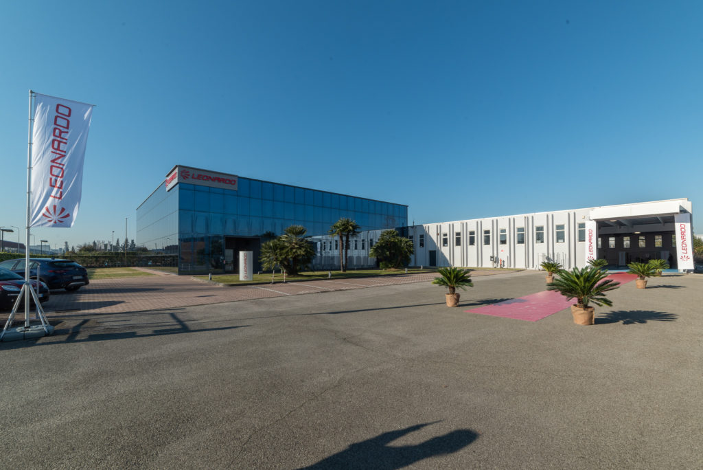 Leonardo's new facility in Pisa currently has a workforce of 60 people, and will expand the company's presence in Tuscany. Leonardo Photo