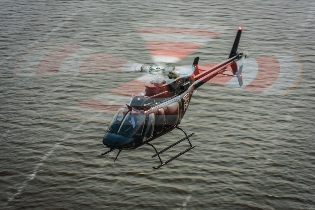 The Bell 407GXi IFR is designed to enable HALO-Flight to have more flights and save more lives in a cost-effective way. Bell Photo