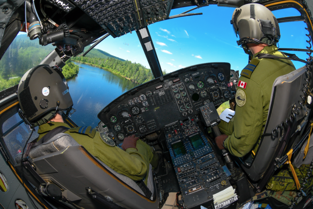 As part of what is being called the Griffon Limited Life Extension project, the RCAF wants to replace a number of the helicopter's avionics systems. Mike Reyno Photo