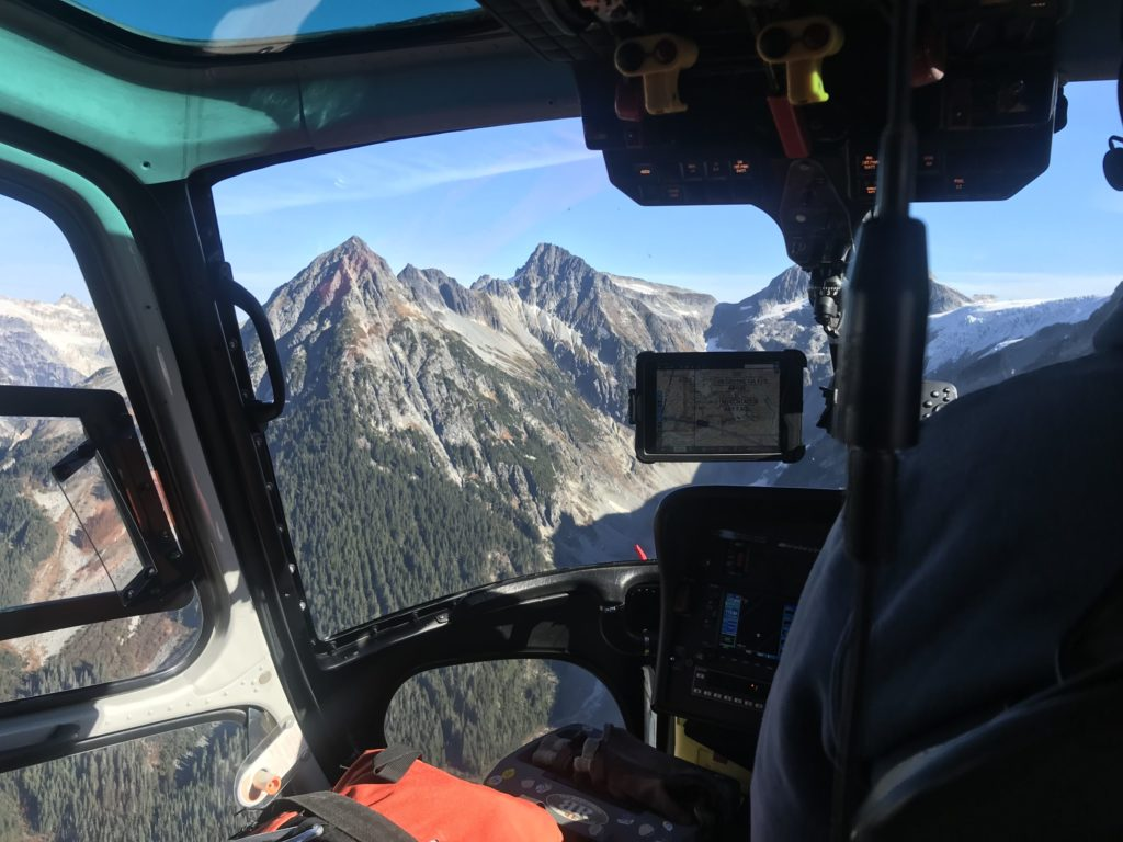 Mother Nature delivered perfect weather for TEAAM's first mission. The rescue crew arrived at the accident site in less than an hour. Miles Randell Photo