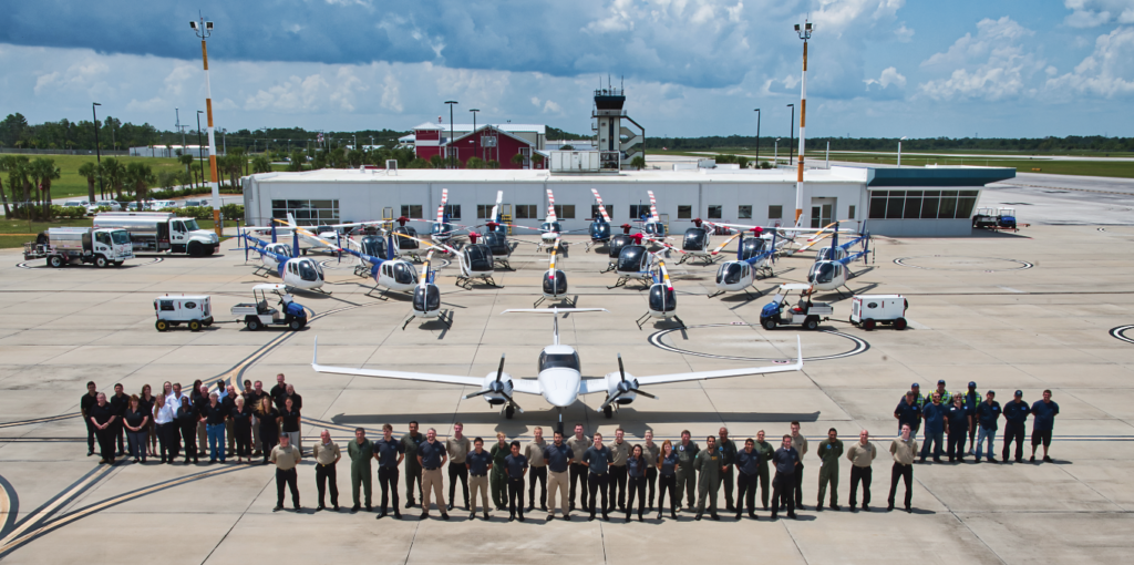 U.S. Aviation Training Solutions, formerly known as the Bristow Academy, has a training fleet that includes 25 Schweizer RSG-300s, as well as a smaller number of Robinson R22s, R44s, and Bell 206B3s.