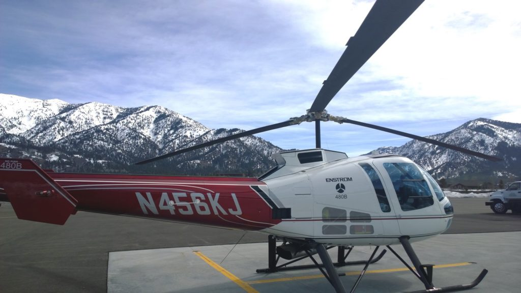 Enstrom's 480B helicopter has received Transport Canada validation; the company is already working with its first launch customer in Canada. Enstrom Photo