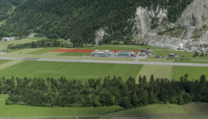 The highlighted red area shown in the photo indicates where Kopter's new facility will go. After moving into the new building in 2021, Kopter will have the necessary capacities for ramping-up the production of its SH09 helicopter. Kopter Photo