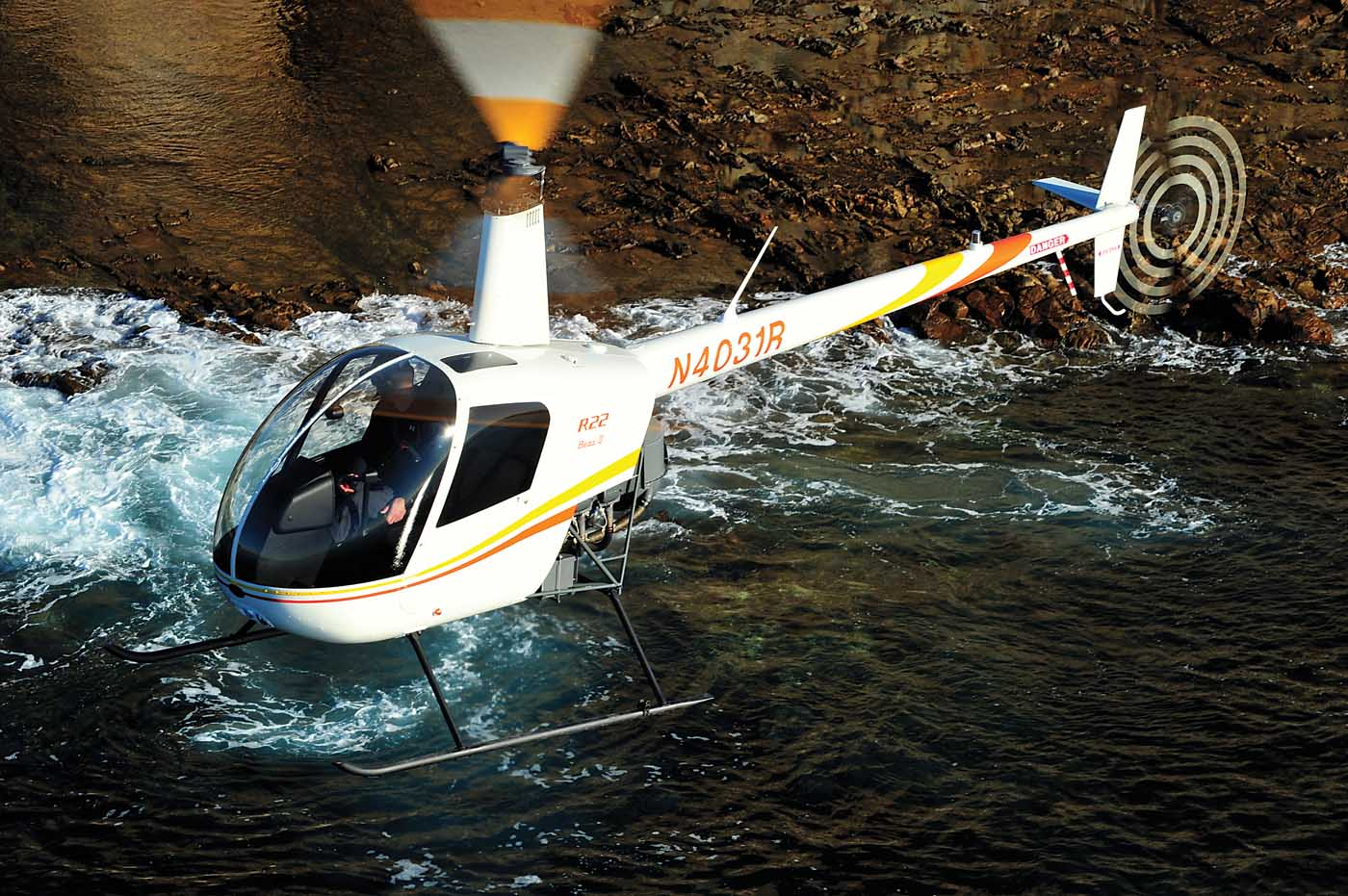 The little copter that could: The Robinson R22 - Vertical