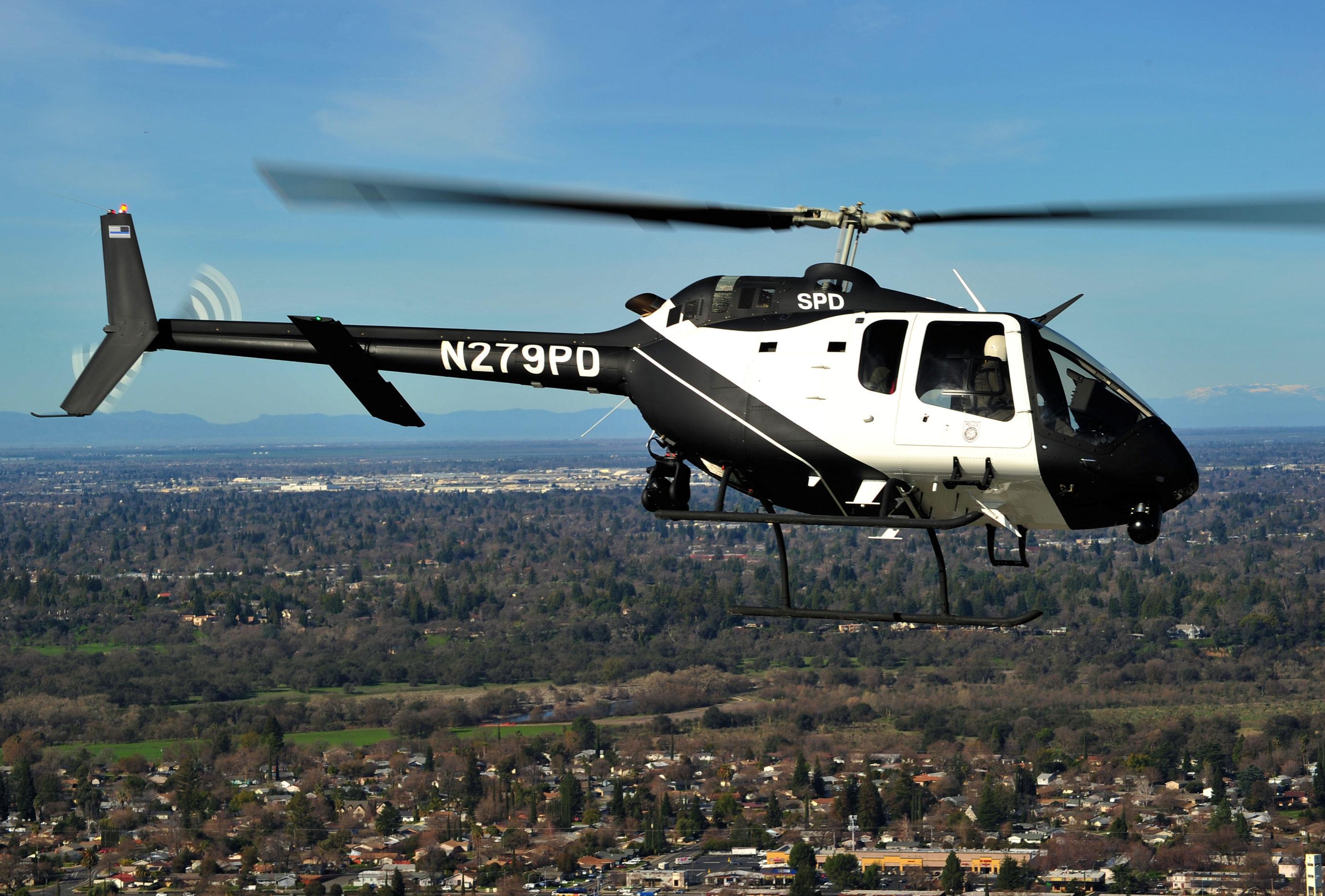 Sacramento Police Bell 505