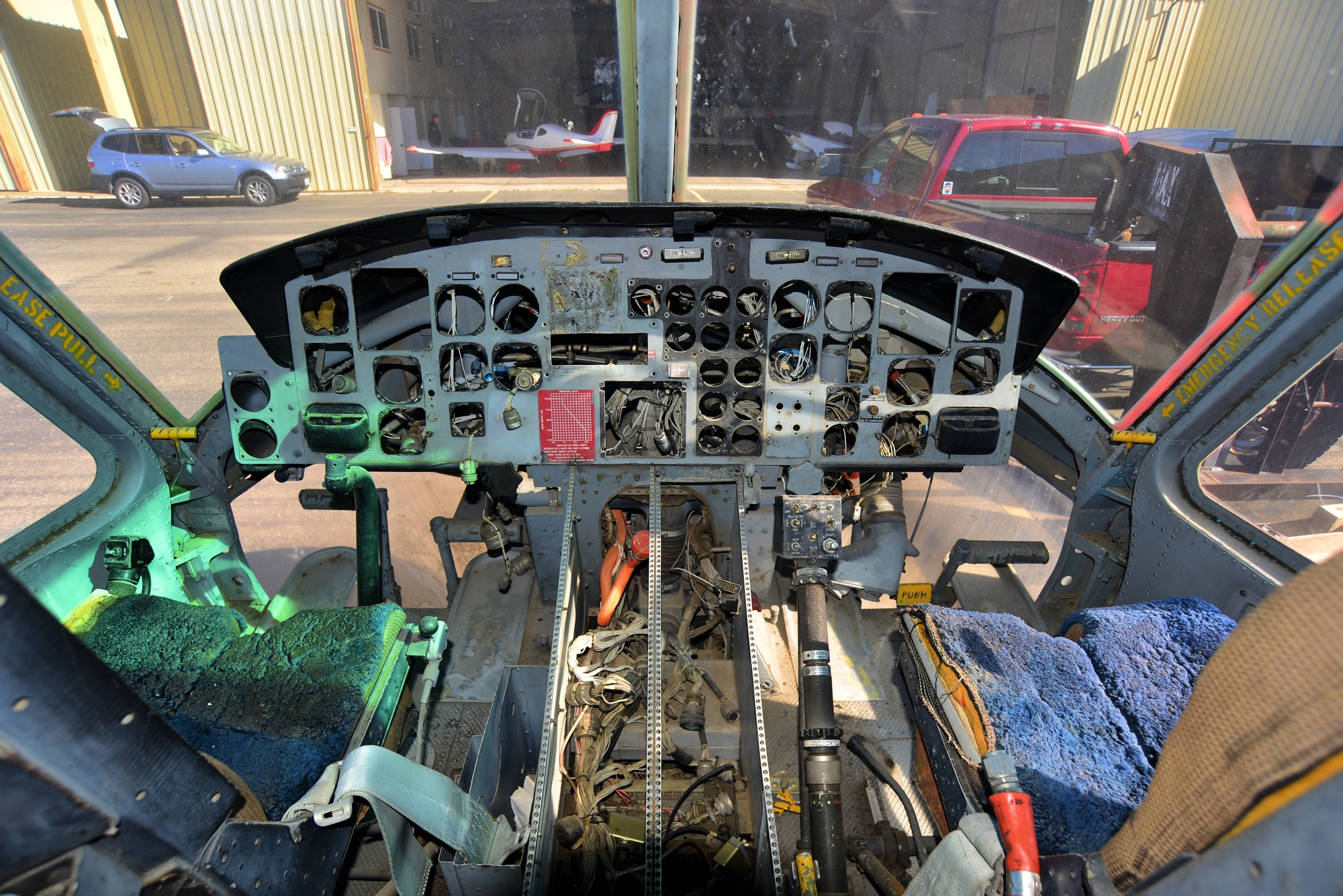 HH-1N instrument panel