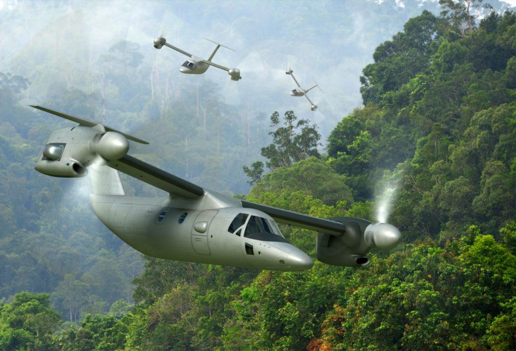Leonardo's AW609 tiltrotor is entering mass production ahead of FAA civil certification. Leonardo Image
