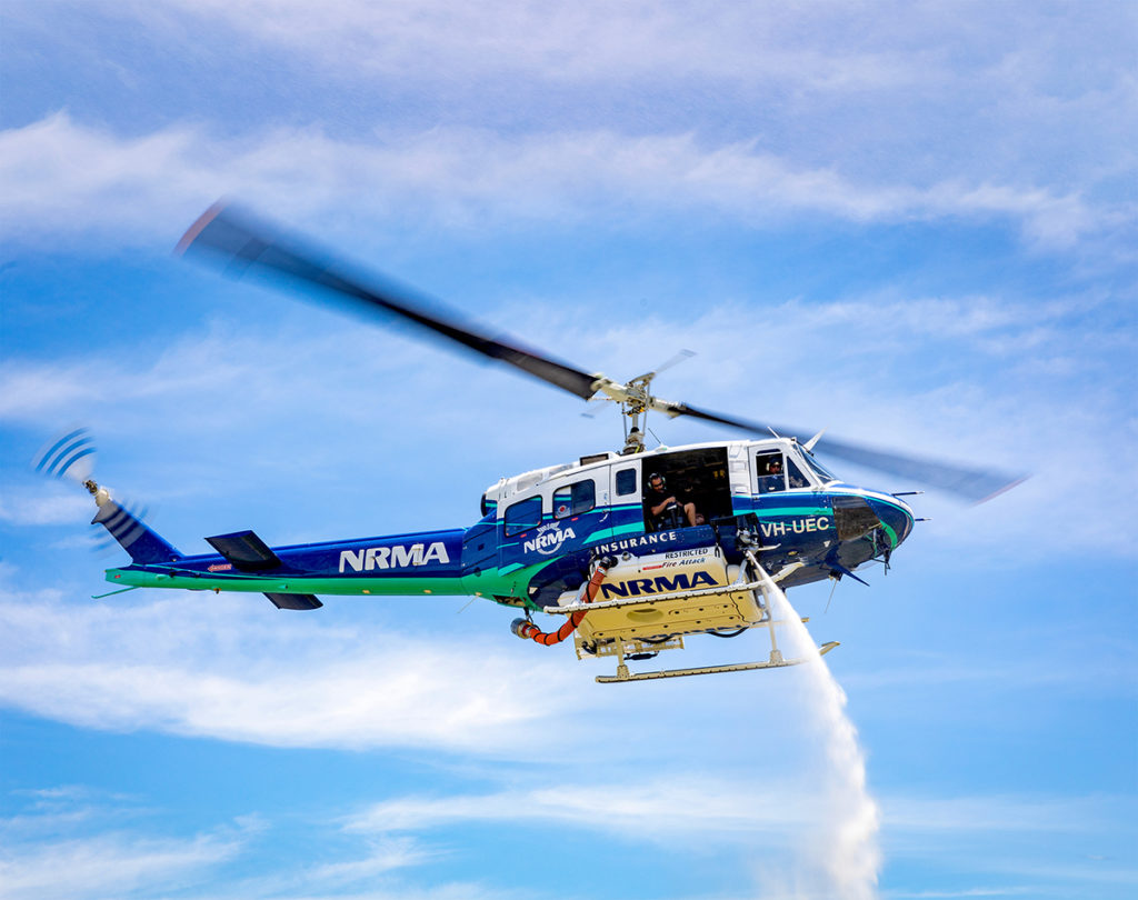 The Asset Protection Eagle Single is operated by EPS Helicopter Services, and is co-owned by the company in partnership with NRMA Insurance. Eagle Copters Australasia Photo