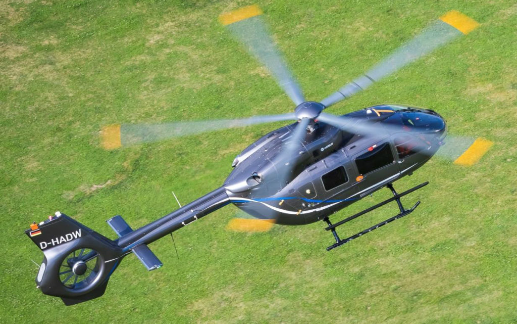 Advancements in blade design and the removal of the main rotor head result in an increase in useful load of 330 pounds (150 kilograms). Airbus Helicopters Photo
