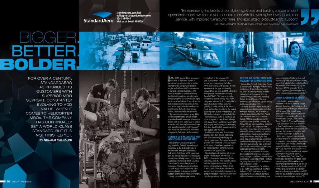 Bigger  Better  Bolder  - Vertical Magazine