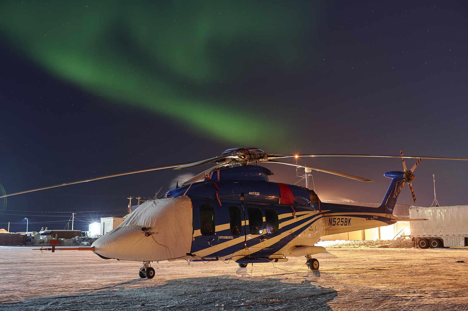 Bell 525 with aurora
