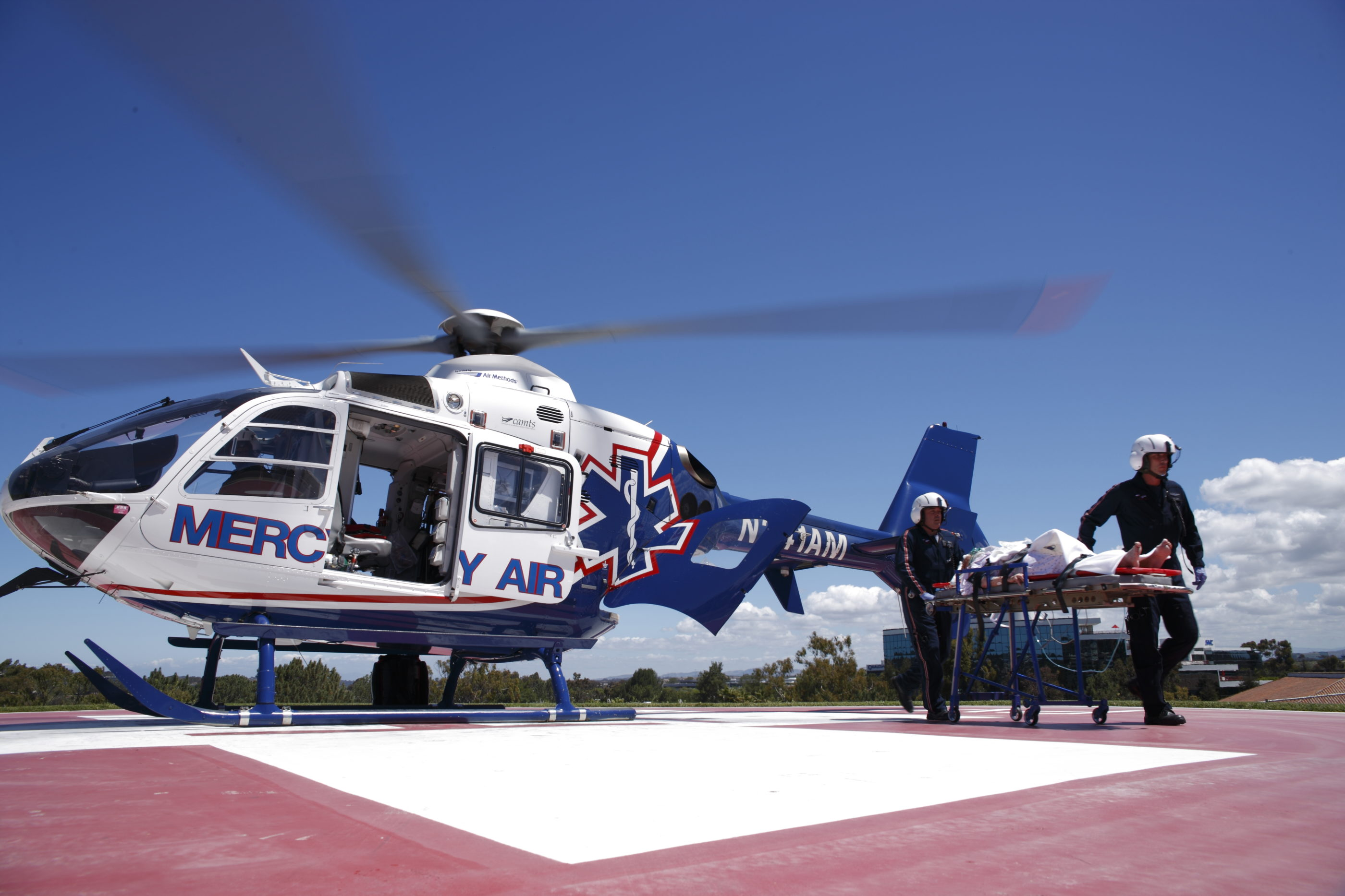 Air Methods Mercy Air helicopter