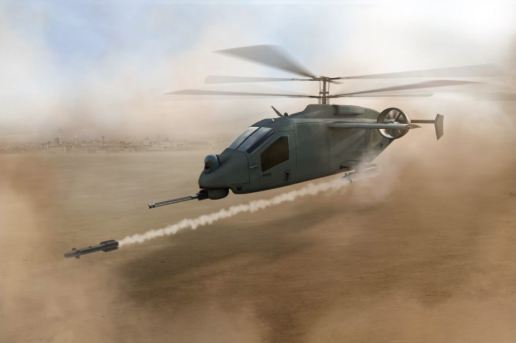 AVX-L3 has proposed a compound coaxial helicopter, and is one of five bidders selected for the next stage of the FARA CP program. AVX and L3 Image