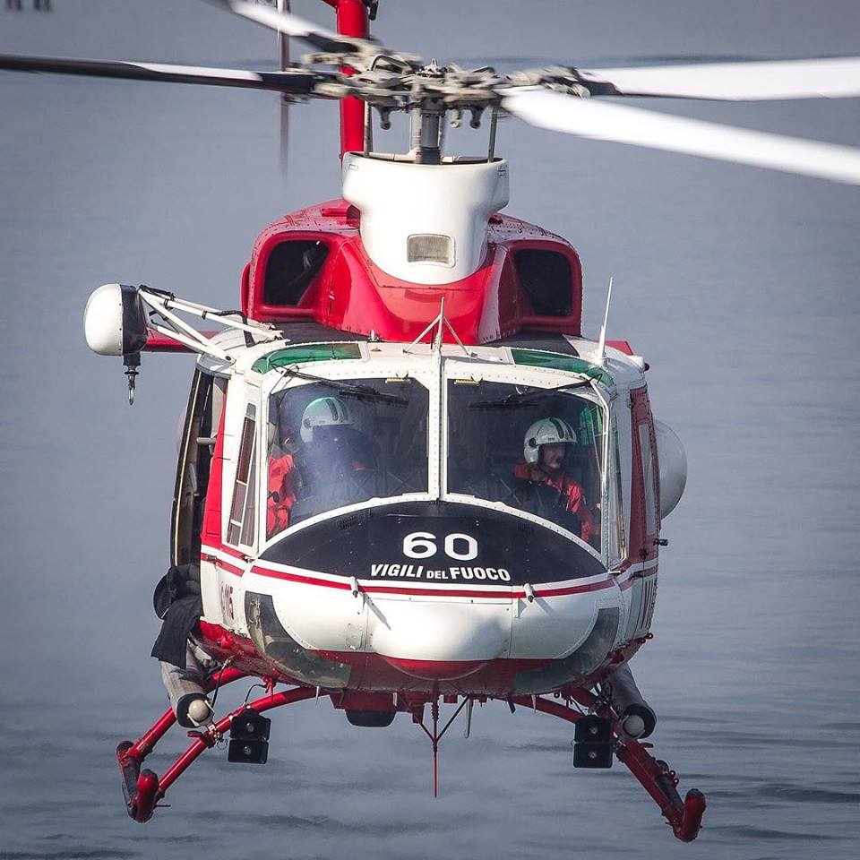 Face to face with a Bell 412 on a HEMS mission. Photo submitted by Instagram user @fe.ma48 using #verticalmag