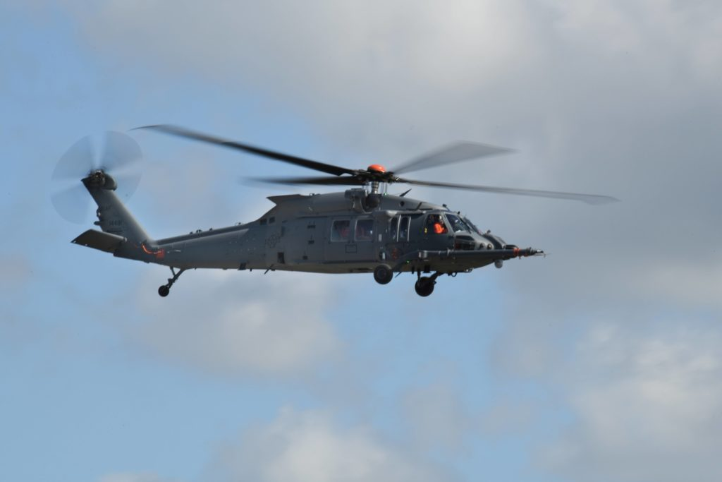 Sikorsky HH-60W helicopter in flight