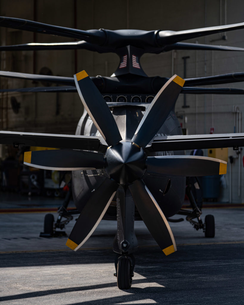 Sikorsky S-97 Raider rear propeller
