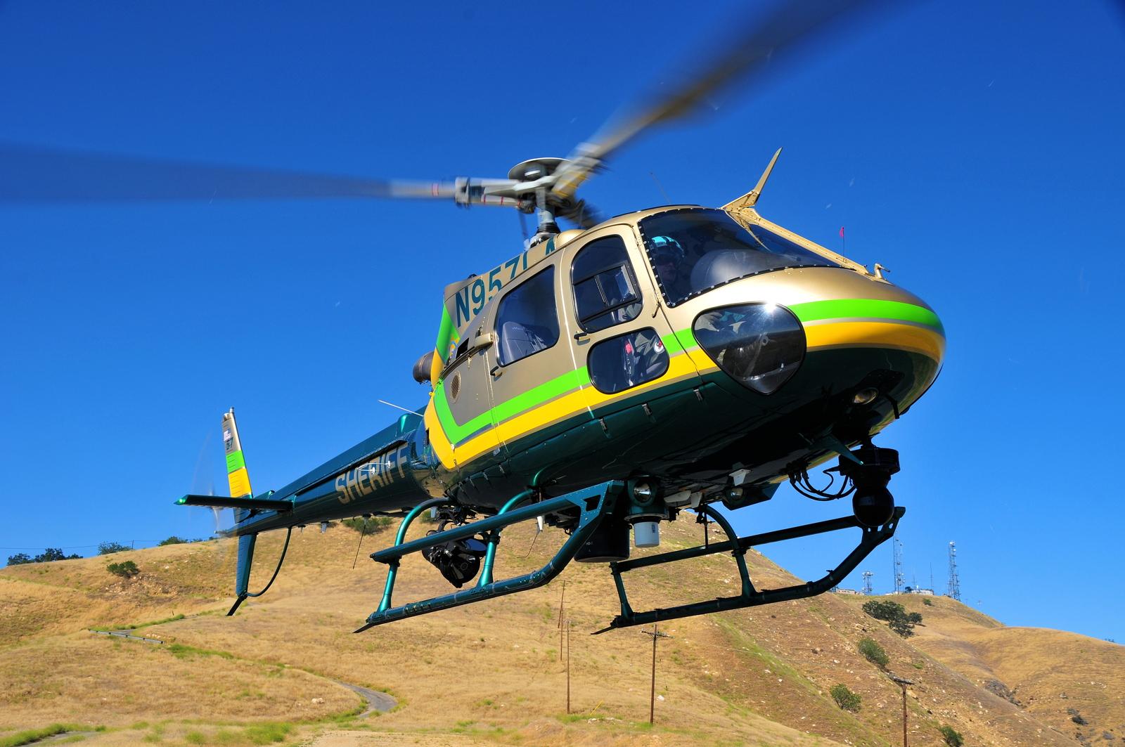 LASD AStar helicopter