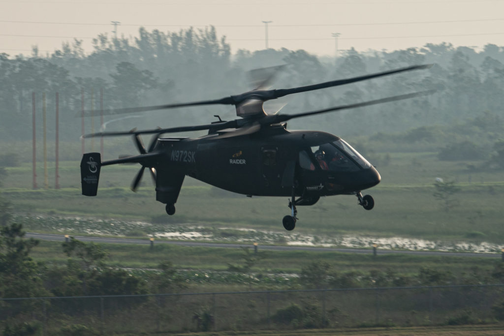 Sikorsky S-97 Raider in flight