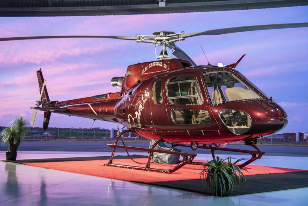 Pacific Crown Helicopters delivers VVIP AS350 B3+ to CM