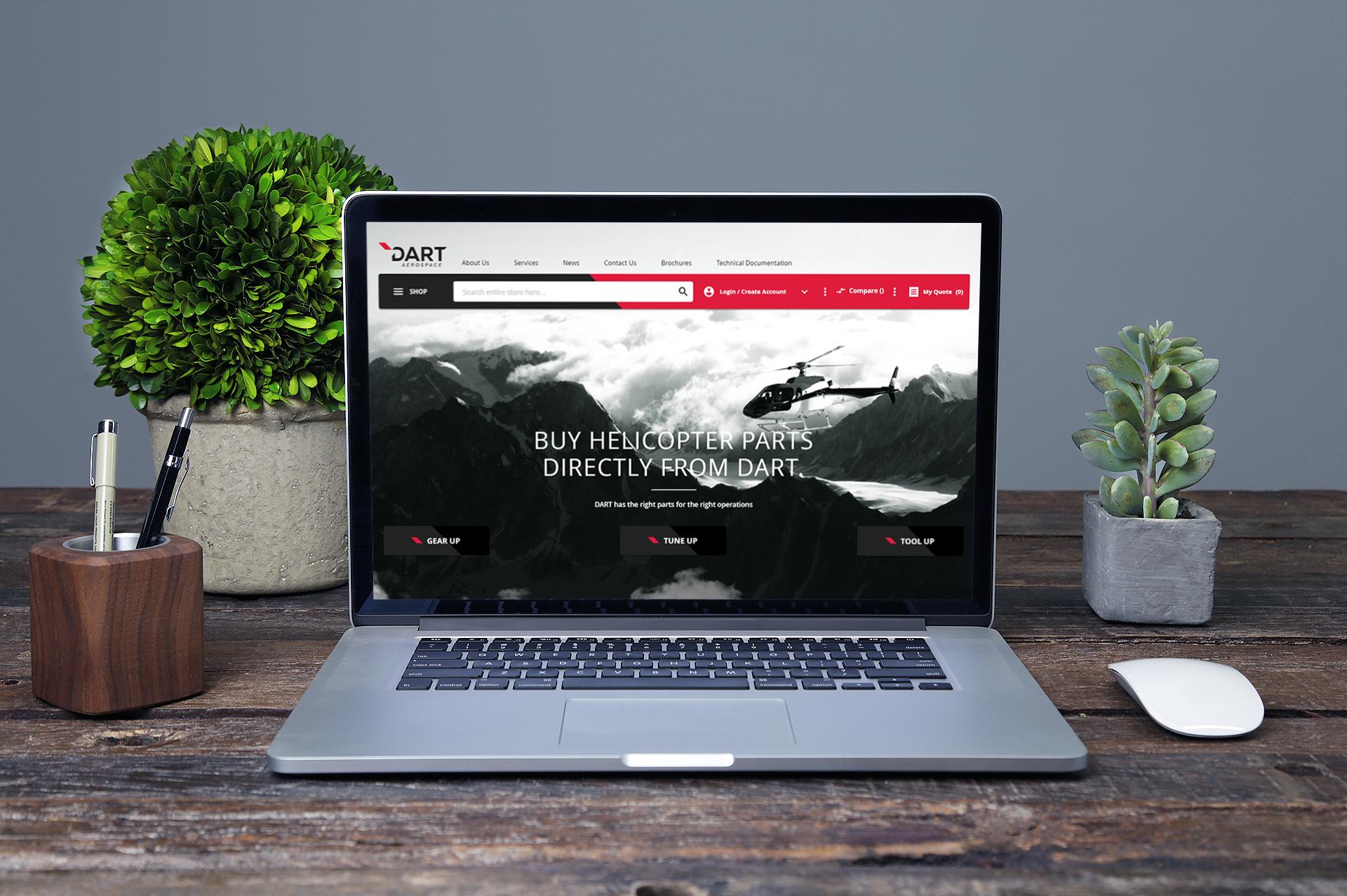 DART Aerospace website