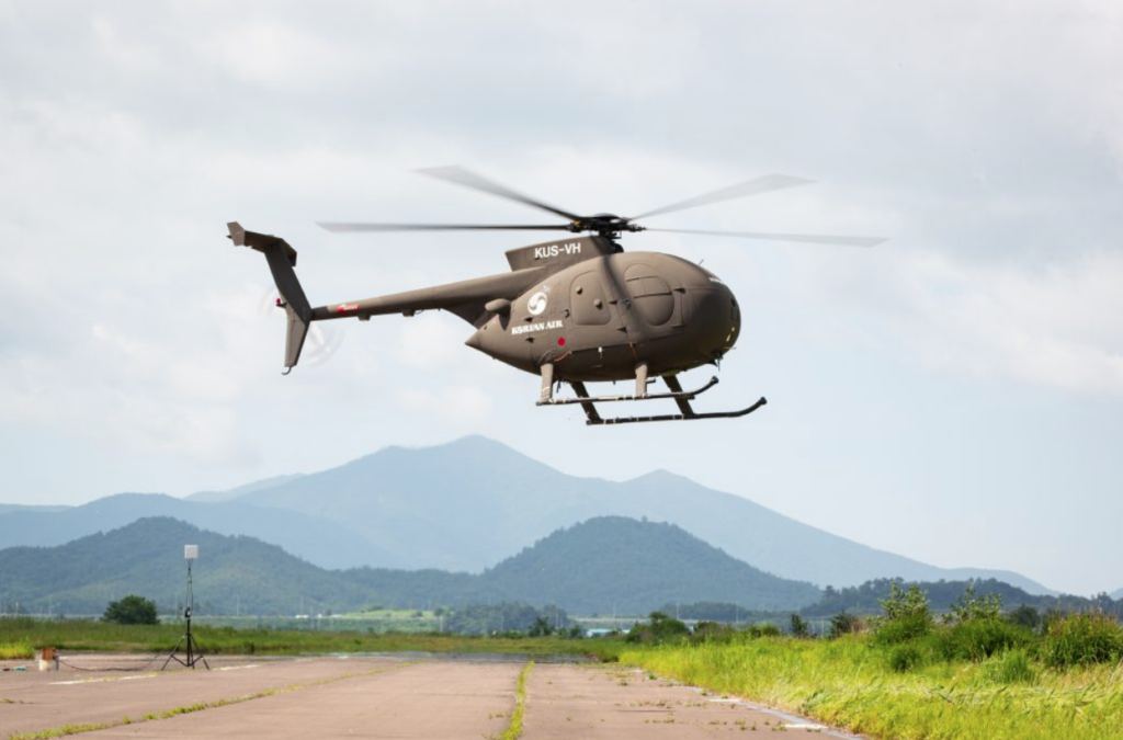 Korean Air demonstrates first unmanned helicopter flight, plans to