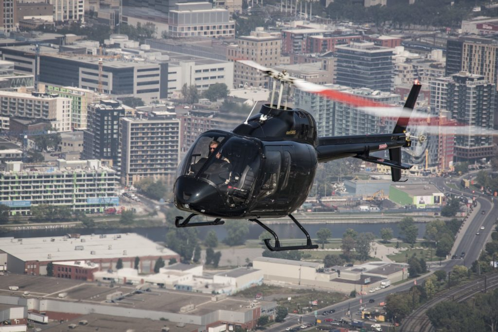 Bell's light single 505 Jet Ranger X has proved a popular choice among operators around the world. Bell Photo