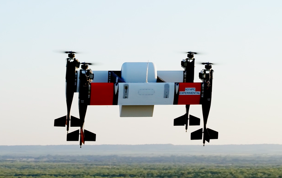 Bell's Autonomous Pod Transport 70 utilizes a tail-sitting electric vertical take-off and landing configuration that is capable of rotation and translation in flight to maximize its performance. Bell Image