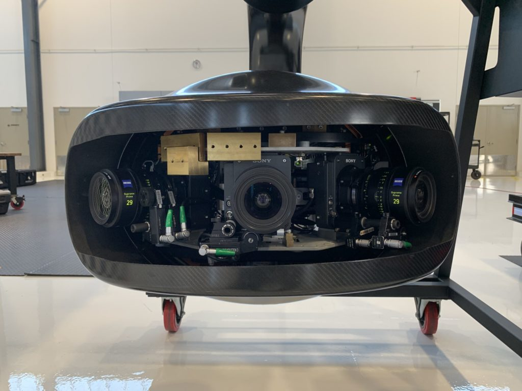 The Hammerhead is a new integration for the  Shotover 3-camera array system. Pursuit Aviation Photo