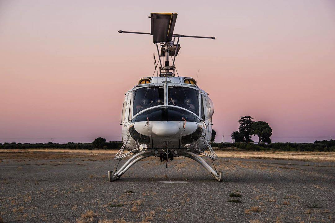 A Bell 212 captured at dawn. Photo submitted by Michael Piper (Instagram user @piper_322) using #verticalmag