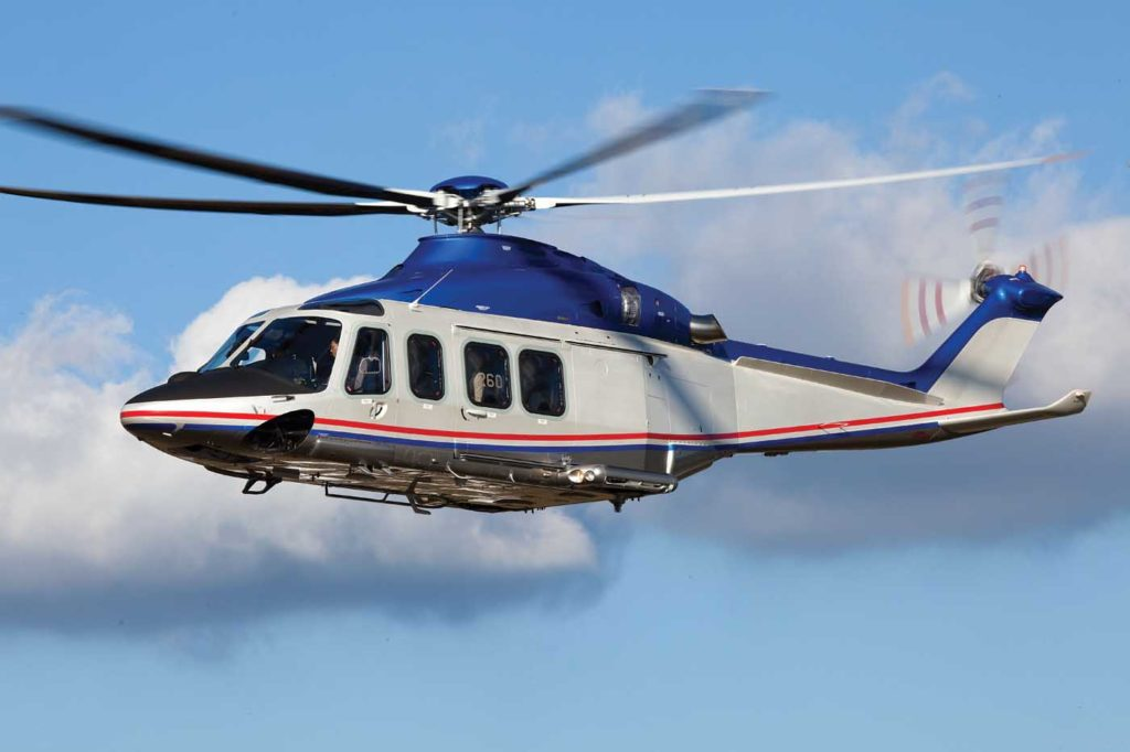 Leonardo recently delivered its 1,000th AW139. Leonardo Photo