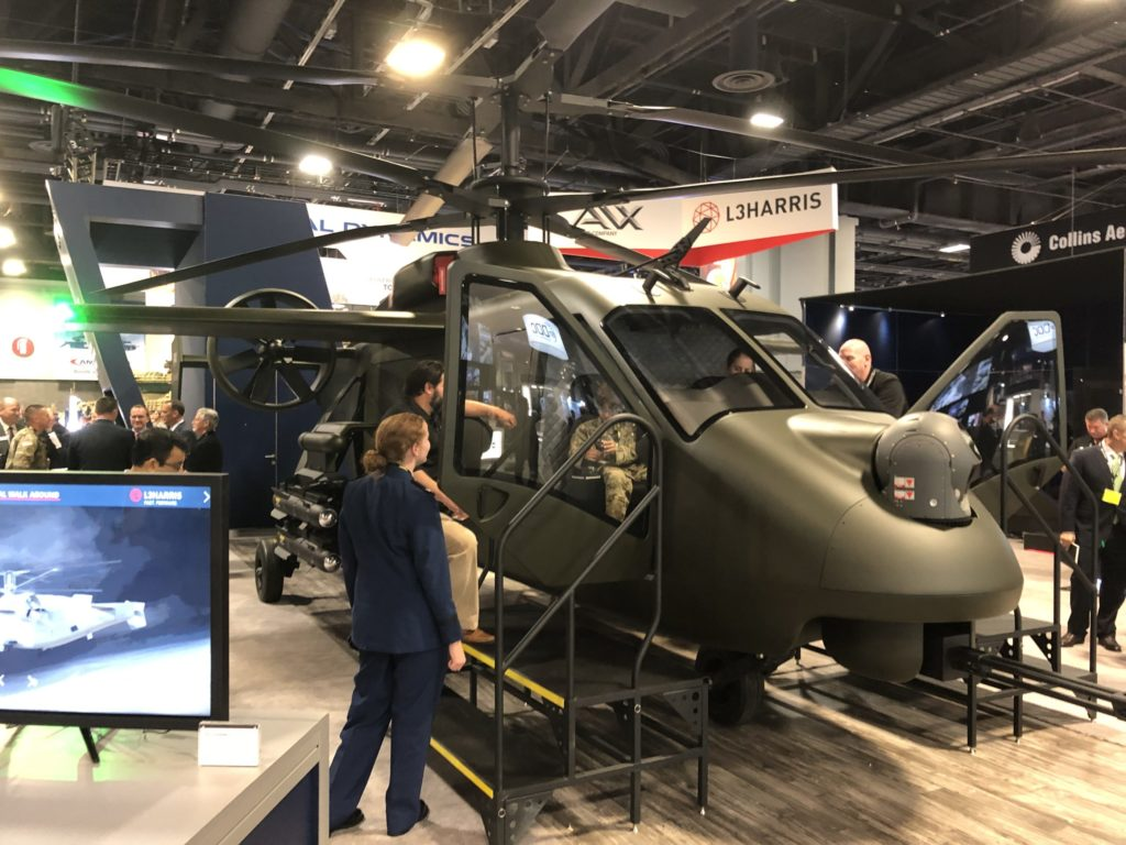 AVX/L3's Compound Coaxial Helicopter offering for the U.S. Army's FARA competition was unveiled at AUSA 2019. Dan Parsons Photo
