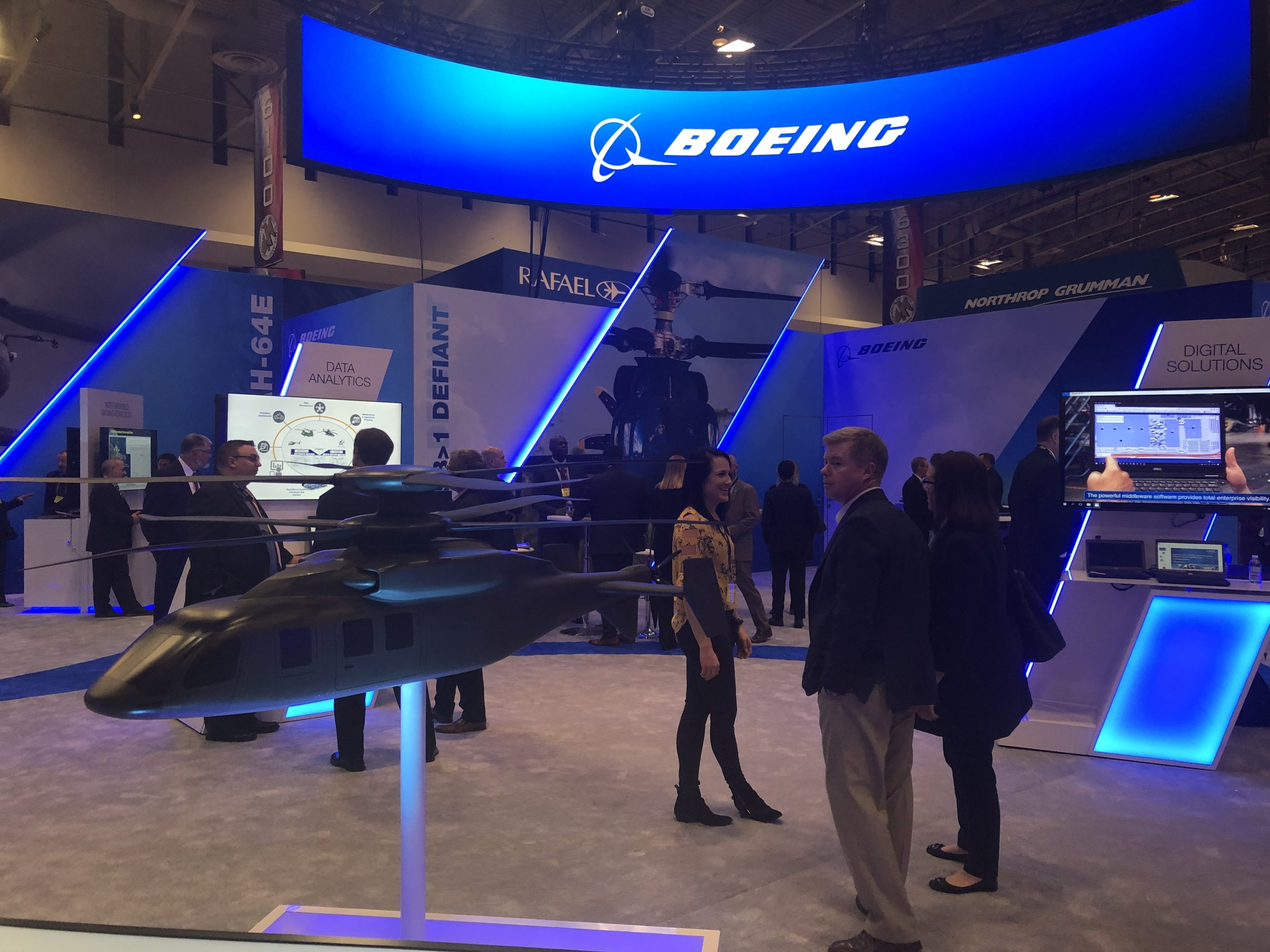 Boeing AUSA booth