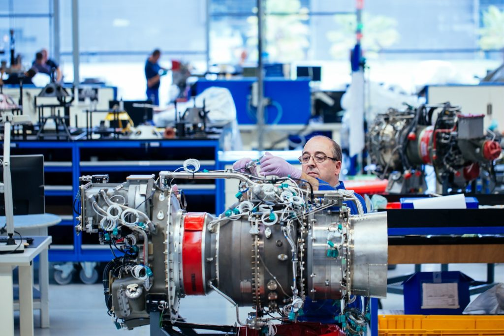 Safran's Ardiden 1U engine received EASA certification in November 2019. Safran/Cyril Abad Photo